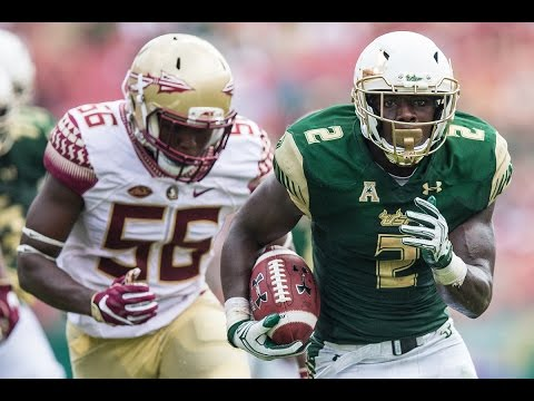 D'Ernest Johnson 2016 USF Highlight