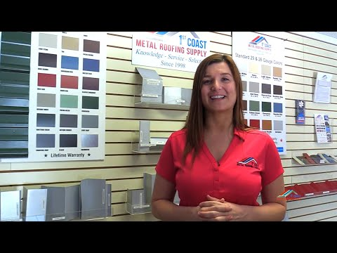 Welcome to 1st Coast Metal Roofing Supply