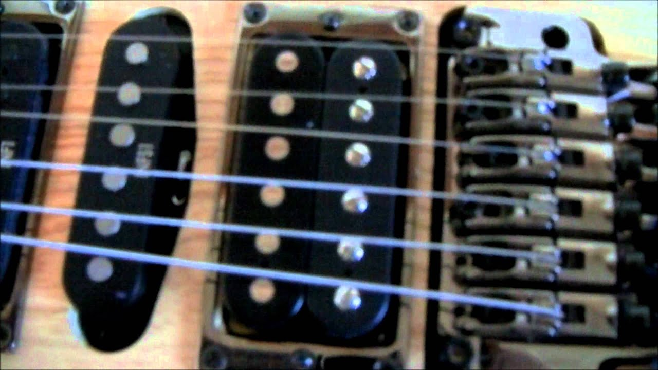 How To Install A Dimarzio Tone Zone Youtube Evolution Pickup Wiring Diagram