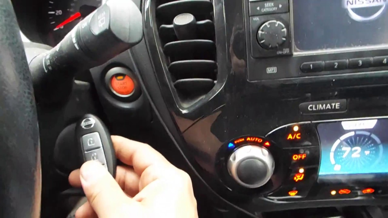 Start Nissan, Dead Key FOB Battery, Push Button Start