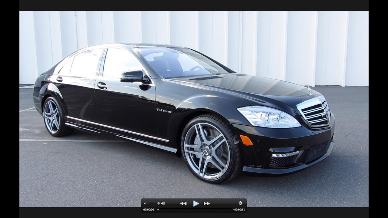 2012 Mercedes Benz S65 Amg V12 Biturbo Start Up Exhaust And In