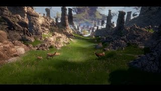 Creating a quick Unreal Engine 4 Fantasy Scene