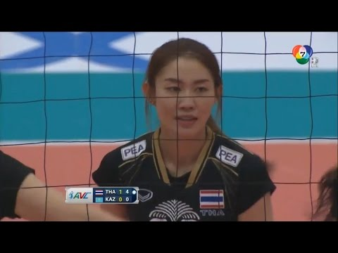 [[Nootsara Highlights]] Thailand - Kazakhstan: AVC 2015