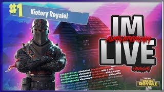 FORTNITE BATTLE ROYALE | #1 RANKED ON LEADERBOARDS ~ 325 SOLO WINS ~ 6700+ KILLS SPONSOR GOAL 81/100