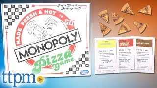 Monopoly Pizza Game from Hasbro