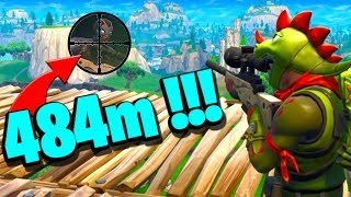*WORLD RECORD* Insane Longest Ever Sniper Shot in Fortnite History