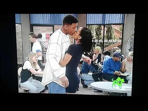 The Fresh Prince Of Bel Air - Will & Denise Kiss Scene