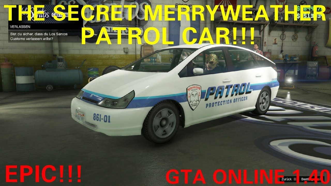 Wtf The Secret Merryweather Patrol Car Spawn Location Gta 5
