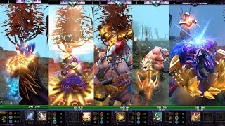 Dota 2 Full Golden Immortal Lockless Luckvase 2016 and Trove Carafe 2016 Mix Sets