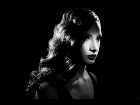 3 Speedlight Creating a Film Noir Image with Lindsay and Rog