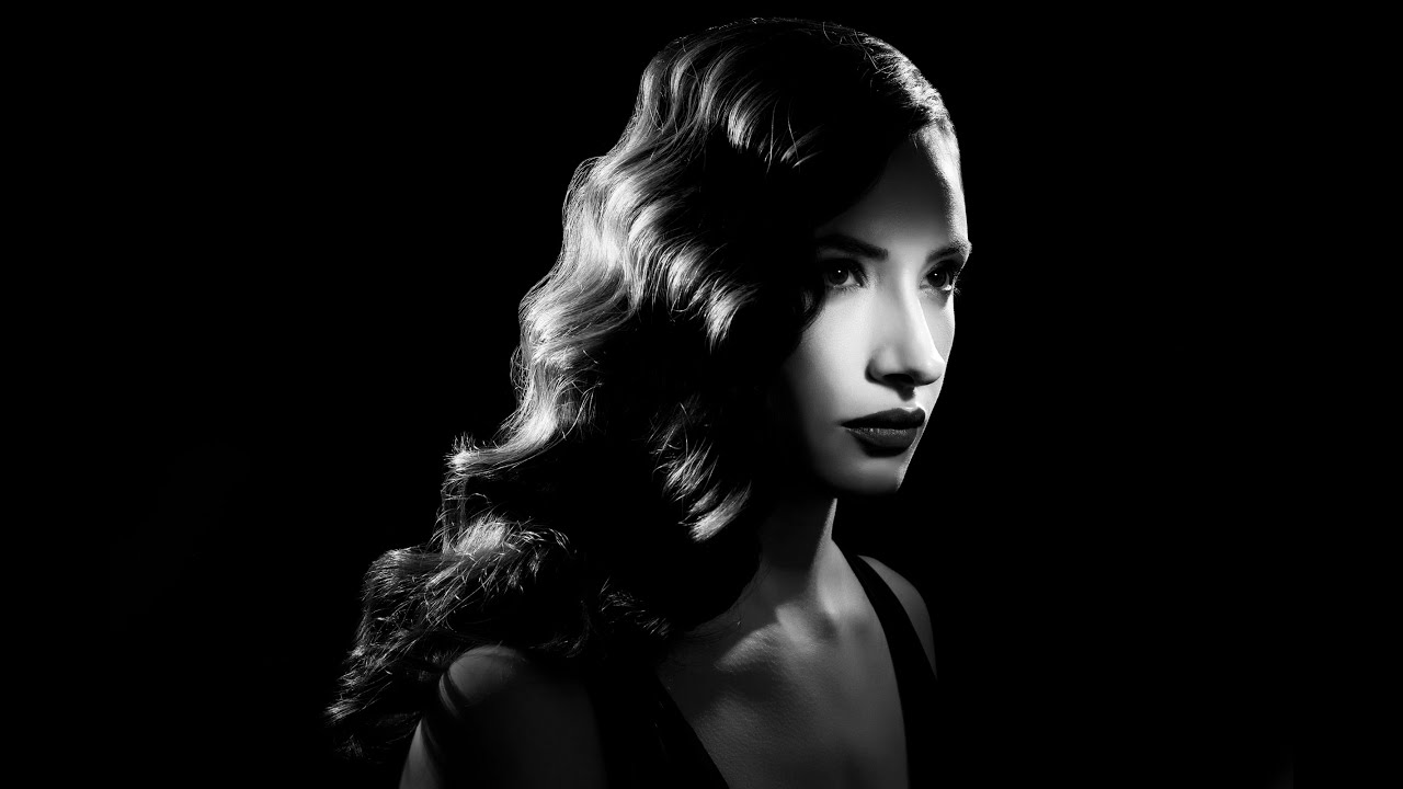 3 Sdlight Creating A Film Noir Image With Lindsay And Rogue In 1 Flash Grid