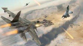 Tom Clancy's HAWX 2  GTX 480 Gameplay #1