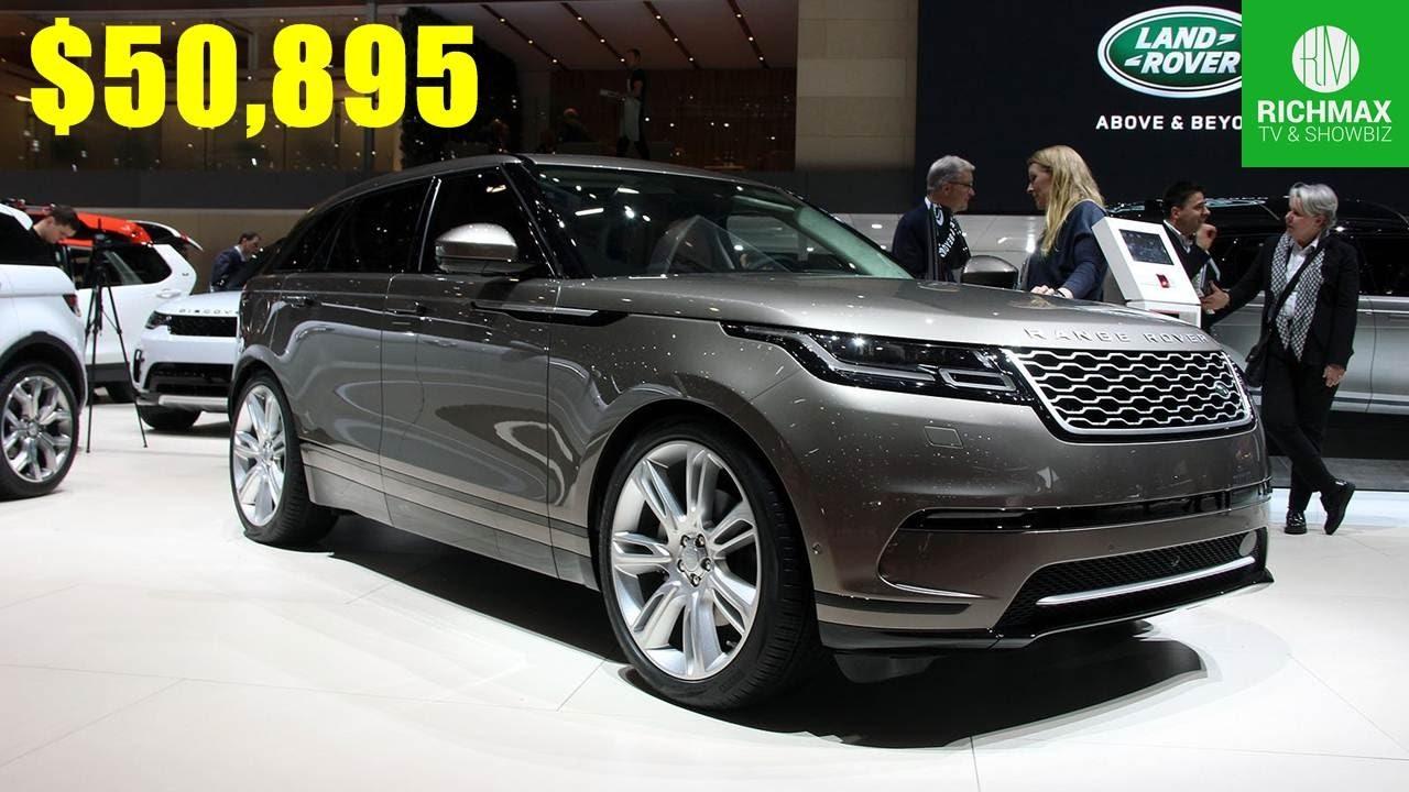 The Best Cars 2017 Range Rover Velar 50 895