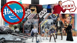 Star Wars 40th anniversary merchandise RANT / The Downfall of Hasbro