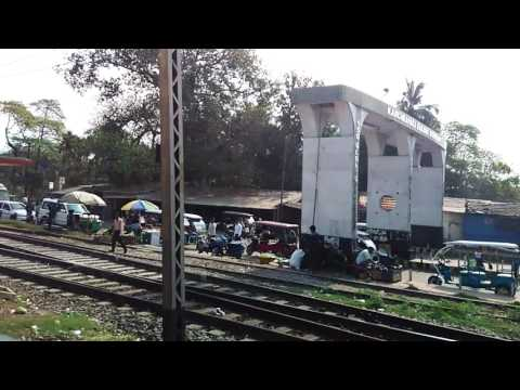 Indian Railway Station : Kanchrapara Workshop Gate and Kanchrapara