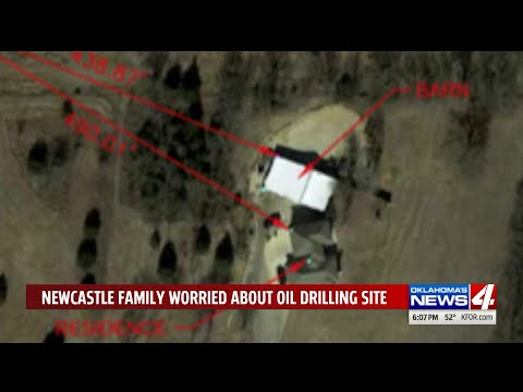 Newcastle family worried about oil drilling site