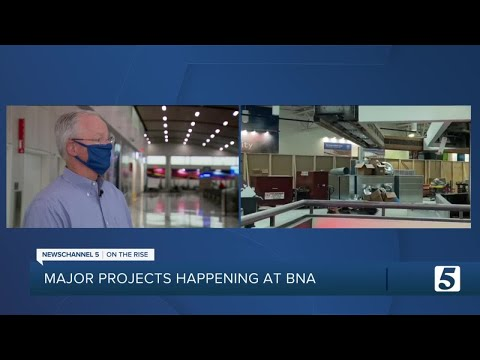 Nashville International Airport Splits Into 2 Terminals As Construction Continues For 'BNA Vision'