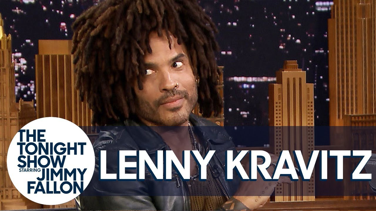 Lenny Kravitz Lets Jimmy Play Bob Dylan's Harmonica