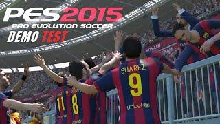 PES 2015 Demo - Gameplay | PS4