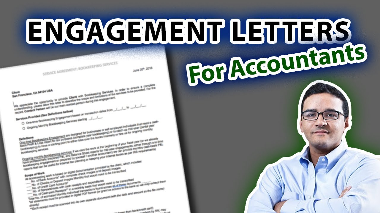 Sample Engagement Letters - Experts in QuickBooks