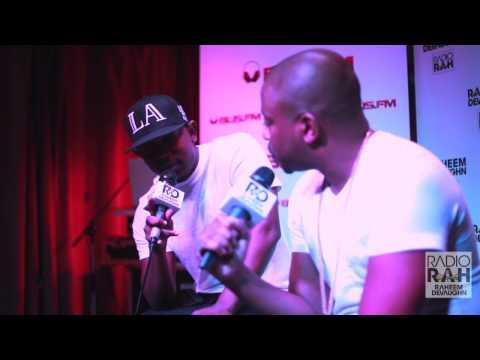 Kendrick Lamar Freestyle On The Raheem DeVaughn Show!
