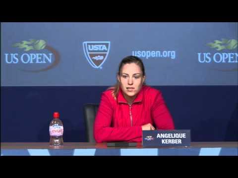 2011 US Open Press Conferences: Angelique Kerber (Semifinals)