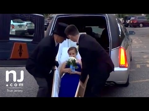 Thumbnail: Showing up to the prom in a hearse and coffin