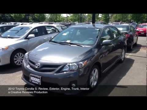 2012 Toyota Corolla S: Review