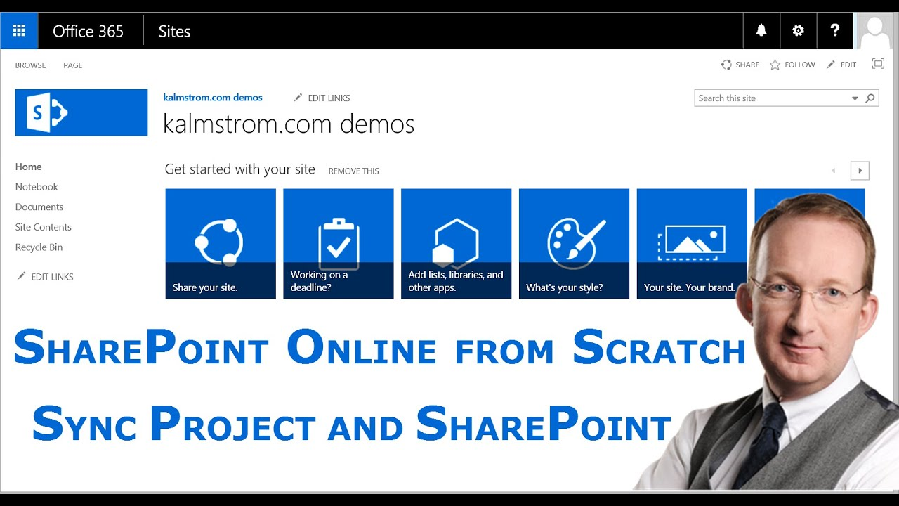Sync MS Project and MS SharePoint