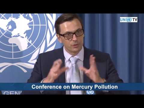 Mercury Pollution Press Conference at UN Geneva