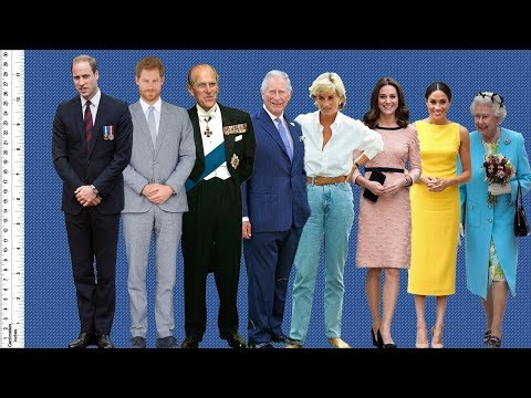 How Tall Are Meghan Markle, Kate Middleton, And The Rest Of The Royal Family?