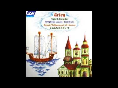 Edvard Grieg : Symphonic Dances for orchestra (based on Norwegian melodies) Op. 64 (1896-97)