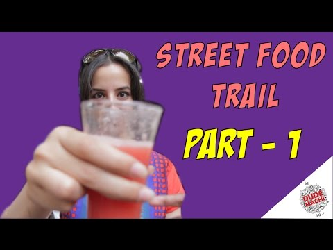 Street Food Trail Part 1 | Chennai Singari | The Dudemachi Show