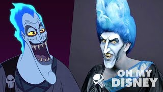 Realistic Hades Makeup Transformation | Sketchbook by Oh My Disney Video
