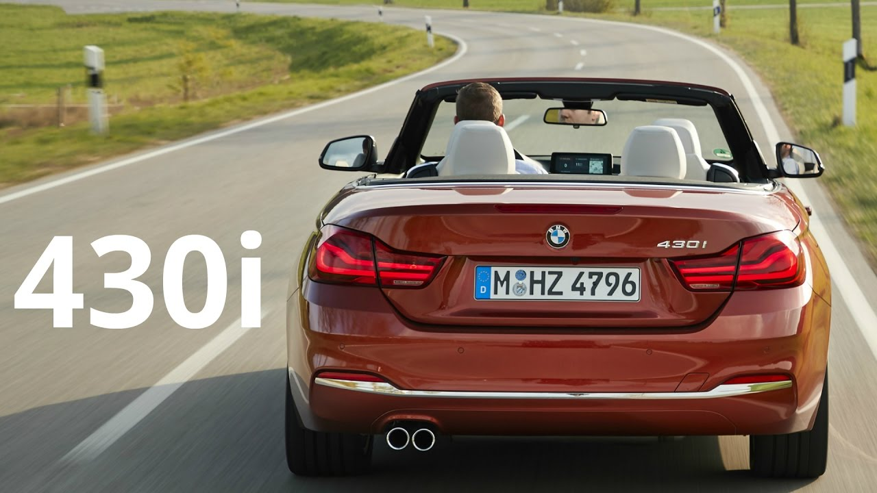 2017 Bmw 430i Convertible Luxury Sport