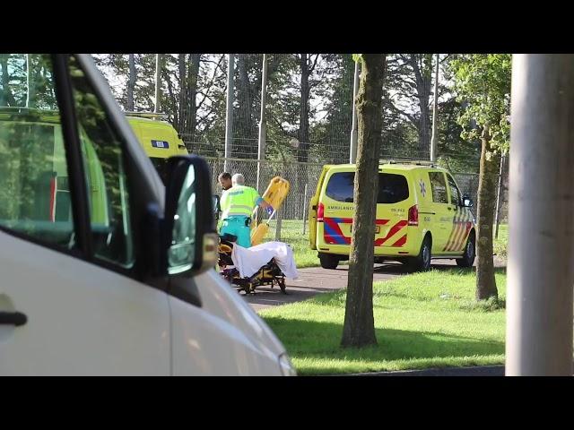 Ernstig ongeval in De Lutte: twee fietsers raken gewond