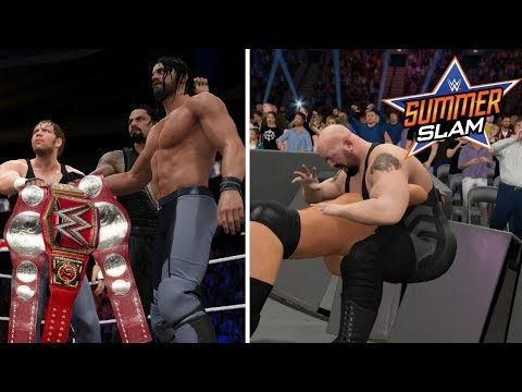 Thumbnail: 4 Crazy WWE Summerslam 2017 Predictions That Could Happen - WWE 2K17