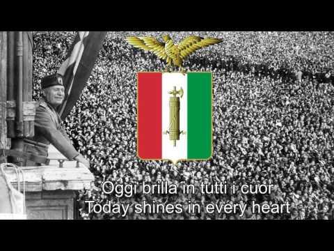 National Anthem of Italian Social Republic (1943-1945) - Giovinezza (Techno Balilla Version)