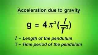 Simple Pendulum - MeitY OLabs