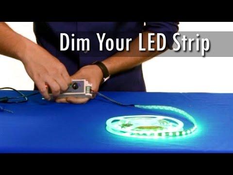 Delightful How To Dim LED Strip Lights
