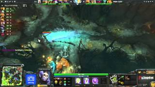 [игра 1] Total Agression vs Risk - Grand Final Dota 2 - On! Fest 2013