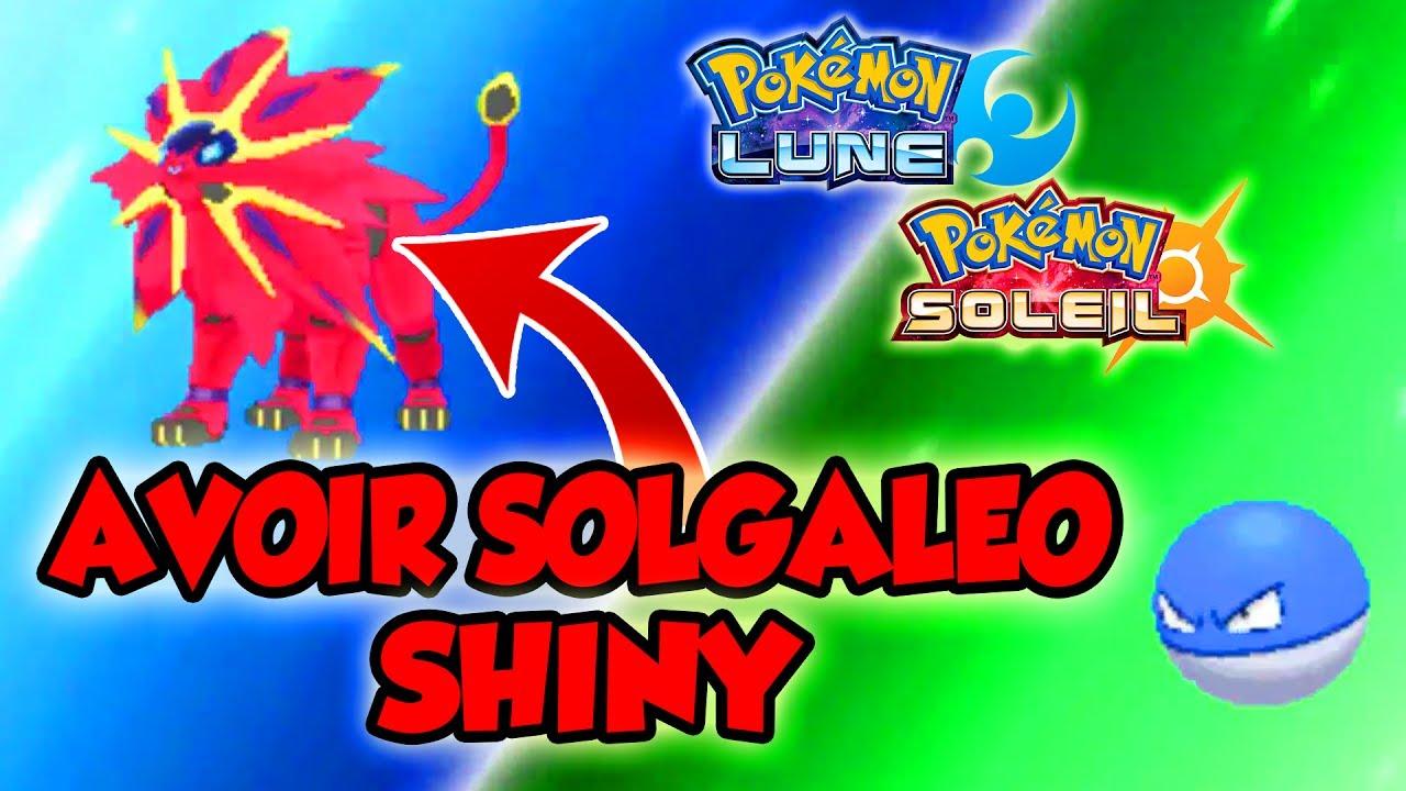 how to get shiny solgaleo
