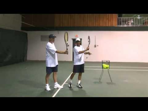 học tennis - làm thế nào để có cú thuận tay bóng đi xoáy - TennisHouse.vn