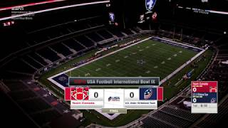 International bowl ix 2018 canada vs usa football