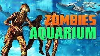 Zombie Aquarium ★ Call Of Duty Zombies (zombie Games)