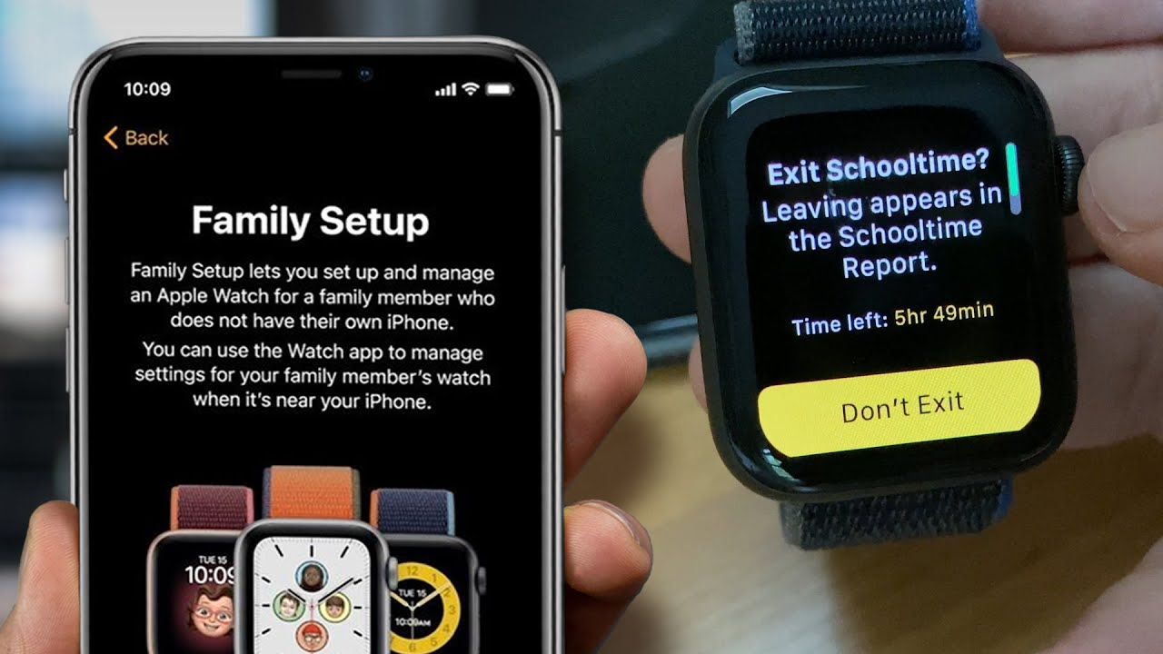 How the Apple Watch can be your kid's phone with Family Setup