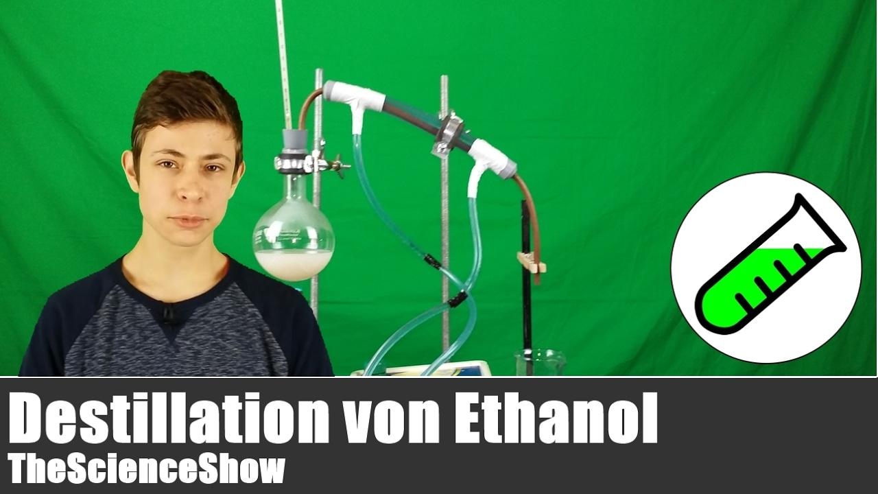 Destillation Ethanol