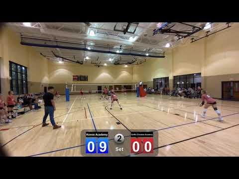 Konos Academy versus Griffin Christian Academy (August 26, 2021 -2nd set)