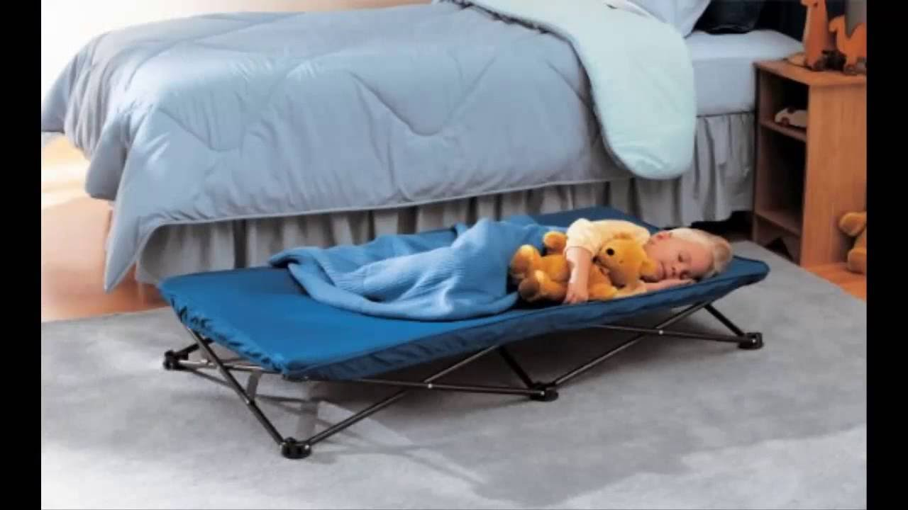 Kids Rollaway Bed Regalo My Cot Portable Bed Royal Blue
