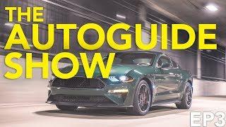 The AutoGuide Show Ep.3: 2020 Porsche Taycan, Jeep Cherokee, Mustang Bullitt, New Mazda Miata